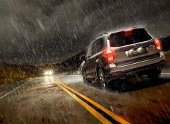 Cuidados com o carro em dias de chuva