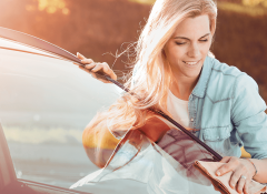 Dicas de limpeza para o vidro do seu carro