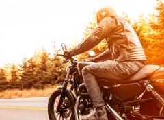 Harley-Davidson Road King® Classic – Respeito pela tradição das Motos Touring.