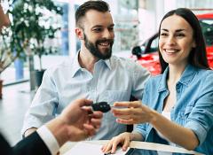 Como funciona a entrega do carro na contemplação?